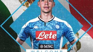Наполі підписав Лосано – трансферний рекорд і клаусула на 130 млн євро