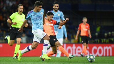 Шахтар – Манчестер Сіті – 0:3 – відео голів та огляд матчу