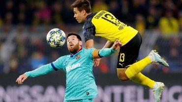 ЛЧ: Борусія повністю переграла Барселону, але подарувала каталонцям нічию – Мессі провально дебютував у сезоні