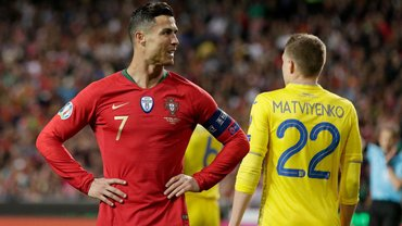 Украина – Португалия: онлайн-трансляция матча отбора Евро-2020 – как это было