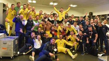 Україна обіграла Португалію в меншості та героїчно вийшла на Євро-2020 з першого місця