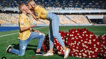 Зінченко зробив пропозицію Владі Седан на НСК Олімпійський – дівчина не змогла відмовити