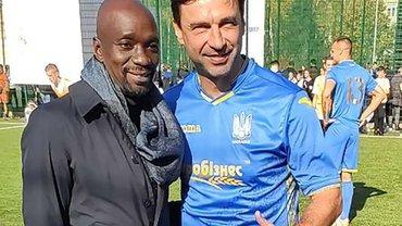 Макелеле назвав найкращого гравця у складі збірної України