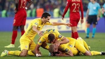 Три гравці збірної України входять до топ-100 рейтингу УЄФА
