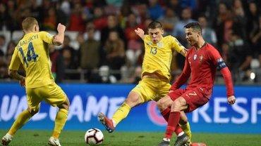 Миколенко поділився враженнями від гри проти Роналду