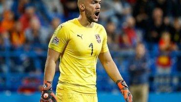 Збірна України може легко програти нам, – голкіпер Сербії Дмітровіч