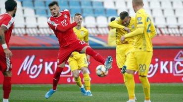 Сербия – Украина – 2:2 – видео голов и обзор матча