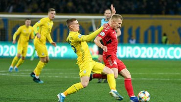 Україна – Естонія: стартові склади та онлайн-трансляція матчу