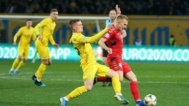 Украина – Эстония: стартовые составы и онлайн-трансляция матча