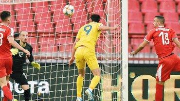 Сербия – Украина: Яремчук классно сравнивает счет в матче отбора Евро-2020