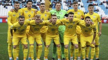Сборная Украины впервые в своей истории завершила календарный год без поражений