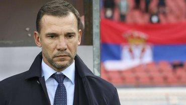 Сербія – Україна: Шевченко задоволений грою, прокоментував призначення пенальті та чекає жеребкування Євро-2020