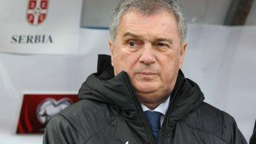 Украина не случайно стала первой в группе, – наставник сборной Сербии Тумбакович