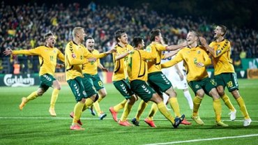 Сборная Литвы одержала первую домашнюю победу за три года – конец ужасной серии бывшего соперника Украины