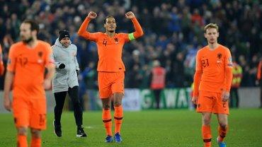 Нидерланды – первый соперник сборной Украины на Евро-2020