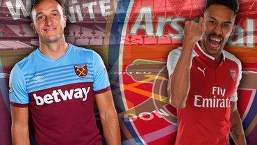 Вест Хэм – Арсенал: видеотрансляция матча АПЛ