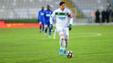 Селезньов забив гол за Бурсаспор у другому поєдинку поспіль