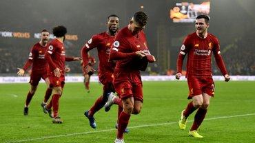 """Вулверхэмптон – Ливерпуль: тяжелейшая победа мерсисайдцев, дебют Минамино, рекорды Трента, Фирмино – спаситель """"красных"""""""