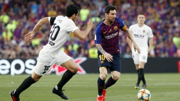 Валенсія – Барселона: стартові склади та онлайн-трансляція матчу 21 туру Прімери