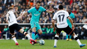 Валенсия – Барселона – 2:0 – видео голов и обзор матча