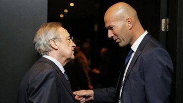 Зидан может покинуть Реал – Перес разгневал француза двумя поступками