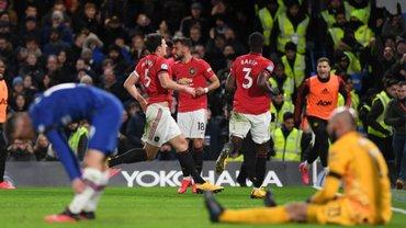 """Челсі – Манчестер Юнайтед: катастрофічний нефарт """"пенсіонерів"""", зірковий час Магуайра та проблеми Лемпарда з голкіперами"""