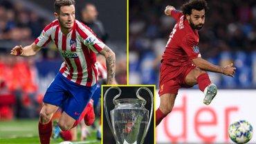 Атлетико – Ливерпуль: стартовые составы на матч 1/8 финала Лиги чемпионов