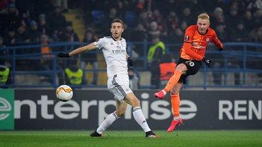 Украина увеличила отрыв от Турции в таблице коэффициентов УЕФА