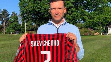 Шевченко прокоментував інформацію про своє ймовірне призначення в Мілан