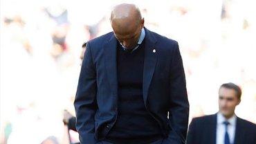 Зидан нецензурной лексикой прокомментировал сенсационное поражение Реала от Леванте