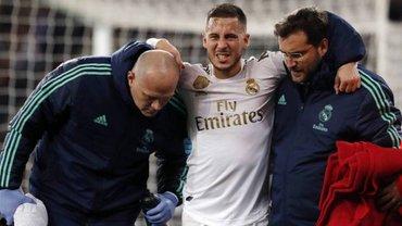 Азар ризикує достроково завершити сезон – діагноз зірки Реала виявився невтішним