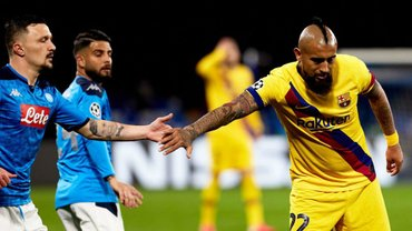 Наполи – Барселона: онлайн-трансляция матча 1/8 финала Лиги чемпионов