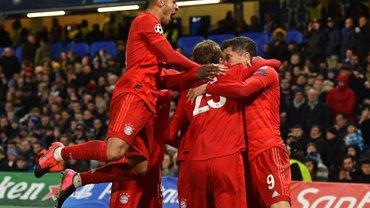 Баварія розгромила Челсі на виїзді у першому матчі 1/8 фіналу Ліги чемпіонів