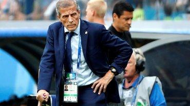 Легендарный Табарес уволен из сборной Уругвая – он выигрывал Копа Америка и доходил до полуфинала чемпионата мира