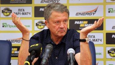 Маркевич зізнався, що певні клуби УПЛ не хочуть платити гравцям після зупинки турніру