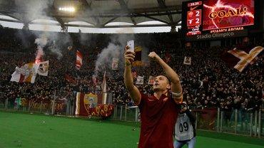 """""""Якби не футбол, міг би працювати на заправці"""": Франческо Тотті – про Фонсеку в Ромі та гол, який допоміг одружитися"""