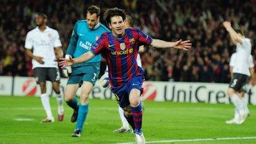 """10 років """"Мессі з Playstation"""": епічний покер аргентинця в ЛЧ, від якого кайфував навіть Венгер попри розгром Арсенала"""