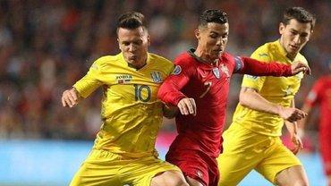 Коноплянка показав вражаючу витривалість у челенджі від Роналду – українець майже наздогнав португальця