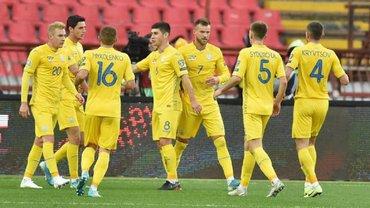 Украина сохранила место в топ-25 обновленного рейтинга ФИФА