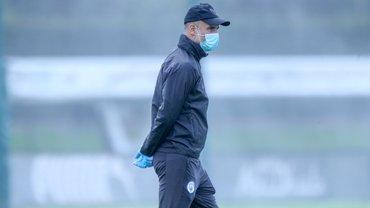 Манчестер Сіті провів перше тренування після карантину – настрій Зінченку й компанії зіпсувала жахлива злива з градом