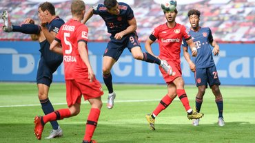 Бавария уверенно переиграла Байер и сделала предпоследний шаг к чемпионству