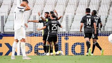 Роналду дублем не удержал Ювентус в Лиге чемпионов – Лион выстрадал четвертьфинал