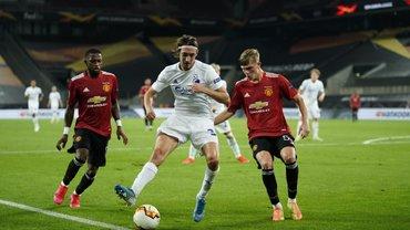 Манчестер Юнайтед в экстра-тайме дожал Копенгаген и вышел в полуфинал Лиги Европы