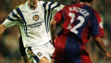 Рівно 21 рік тому Динамо розгромило Барселону у Лізі чемпіонів