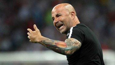 Аргентина – Хорватія: фанати облаяли Сампаолі під час матчу та кинули у тренера пляшкою