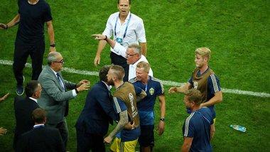 Німеччина – Швеція: після матчу ледь не спалахнула бійка через неоднозначне святкування німців