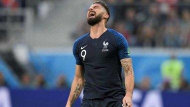 ЧС-2018: Франція стала першим чемпіоном світу, центрфорвард якого не завдав жодного удару в площину воріт