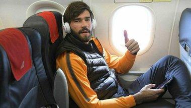 Алиссон попрощался с болельщиками Ромы