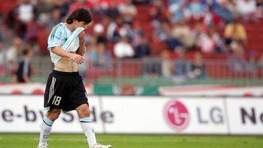 Рівно 13 років тому Мессі дебютував за збірну та був вилучений через 40 секунд