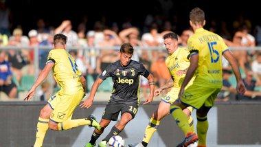 Ювентус в дебютном матче Роналду вырвал победу над Кьево